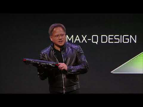 NVIDIA Press Event at CES 2018 with NVIDIA CEO Jensen Huang (видео)