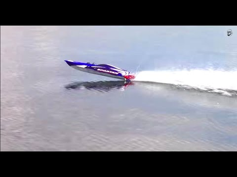 RC ADVENTURES - Traxxas Spartan Extreme Speed Boating