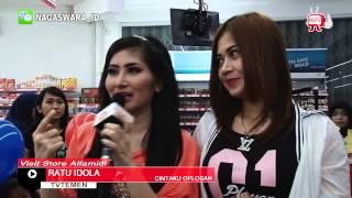 Ratu Idola dan Nyimas Idola Visit Alfamidi Cibitung - NSTV