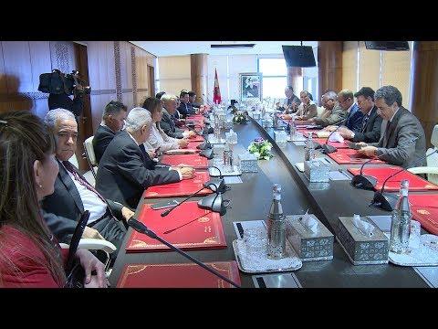 العثماني يؤكد على ضرورة العمل من أجل الرقي بالعلاقات الاقتصادية بين المغرب ودول أمريكا الوسطى