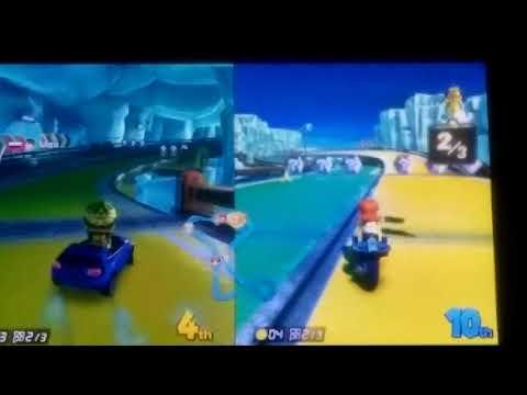 2 weirdo people play Mario Kart plus the Random Person Filming(2)
