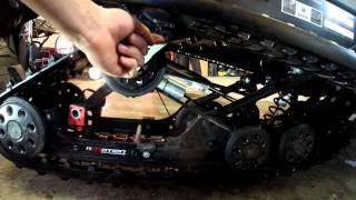 10. how to install ice scratchers on skidoo's