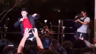 Chandelier - Darren Espanto Live @Singapore Rooftop Affair 18/06/16 Video