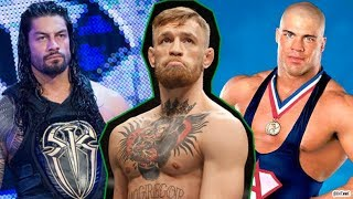 Video WWE Wrestlers REACT To Conor McGregor! WRESTLERS ROAST CONOR MCGREGOR! MP3, 3GP, MP4, WEBM, AVI, FLV Oktober 2018