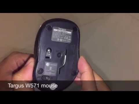 Targus W571 Wireless Optical Mouse Review