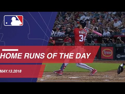 Watch all the home runs from Mother's Day