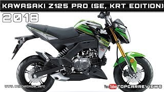 3. 2018 KAWASAKI Z125 PRO (SE, KRT EDITION) Review Rendered Price Specs Release Date
