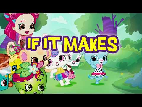 SHOPKINS Wild Style | Why Not Go Wild SONG – With Lyrics | Videos For Kids