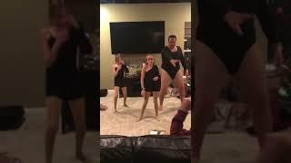 Córeczki chciały zatańczyć do ulubionej piosenki Beyonce! Brakowało 3 tancerki więc tata pokazał co potrafi!