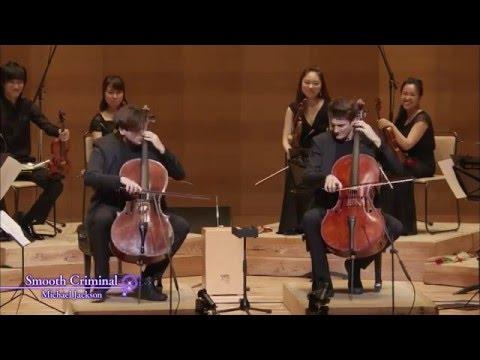 Dos cellos que te maravillarán mientras tocan Smooth Criminal