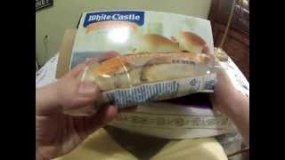 FoodReview: White Castle Frozen Cheese Burgers