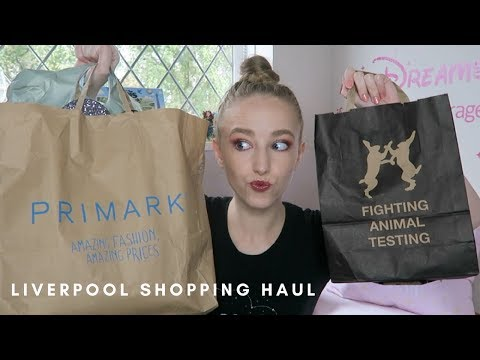 Liverpool Shopping Haul - Lush, Pull And Bear, Primark And More! | Esme Hill