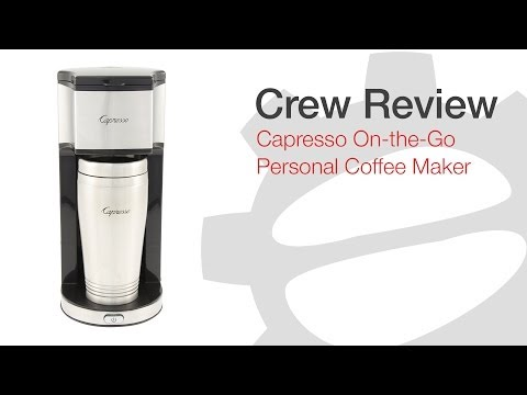 Crew Review: Capresso On-The-Go