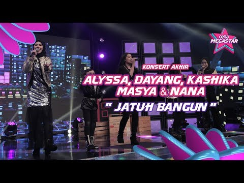 Jatuh Bangun Alyssa, Dayang, Kashika, Masya & Nana Di Ceria Megastar Akhir I Final I Haqiem Rusli