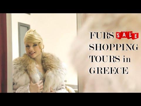 Покупка шубы в Греции | Касторья