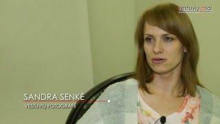 """""""Vestuvių asų"""" interviu su fotografe Sandra Senke"""