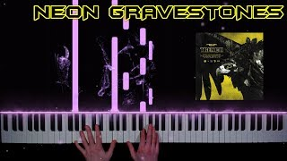 twenty one pilots - Neon Gravestones - piano cover | tutorial | how to play