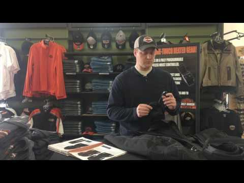 Cold Weather Harley-Davidson Riding. Heated Liner And Riding Jacket. (3 of 5)