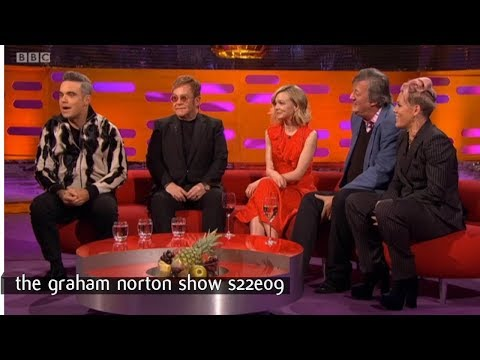 Graham Norton Show S22E09 Sir Elton John, Carey Mulligan, Stephen Fry, Robbie Williams and Pink
