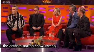 Video Graham Norton Show S22E09 Sir Elton John, Carey Mulligan, Stephen Fry, Robbie Williams and Pink MP3, 3GP, MP4, WEBM, AVI, FLV September 2019