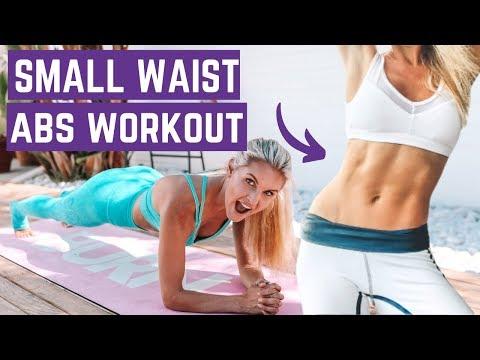 BEST PLANK workout for a SMALLER WAIST & FLAT ABS