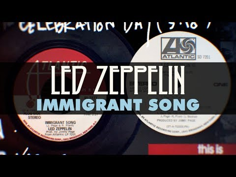 Led Zeppelin - Immigrant Song (Official Audio)