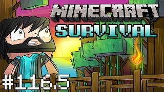 """Minecraft : Survival - Part 116.5 - Behind-The-Scenes of """"The Yellow Submarine Voyage"""""""