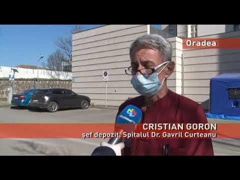 Cantitate importantă de apă, donată Spitalului Dr. Gavril Curteanu