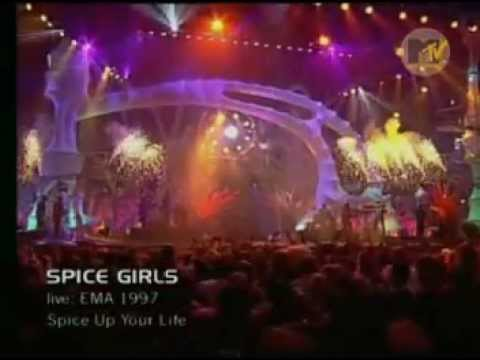 Spice Girls - Spice Up Your Life (Live @ EMA 1997)