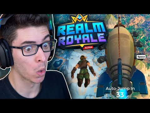 NOVO BATTLE ROYALE GRÁTIS! Realm Royale é MARAVILHOSO!