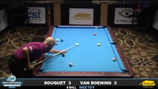 Video 2014 CSI 8 Ball Invitational: Van Boening vs Souquet MP3, 3GP, MP4, WEBM, AVI, FLV Desember 2018