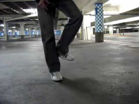 T Step - I go through the very basic steps of the melbourne shuffle. I broke it down as well as I know how. Hope you find it usefull. And I hope you think I'm UberCoo...