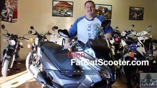 5. KYMCO X TOWN 300 Review '18 USA - FatCatScooter.com