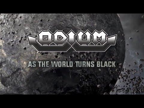 ODIUM - As The World Turns Black (lyric video)