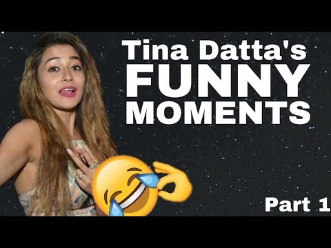Tina Datta's FUNNY MOMENTS at all the time
