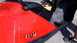 3. 2000 Honda Helix 250cc SCOOTER