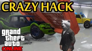 GTA 5 - CRAZIEST GARAGE HACK YET - Hackers Taking It to New Levels (GTA Online)