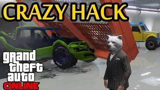 GTA 5 - CRAZIEST GARAGE HACK YET - Hackers Taking It to New Levels (GTA Online)