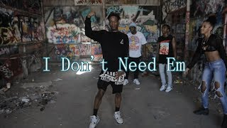 ( I don't need em' ) song SoundCloud link ...