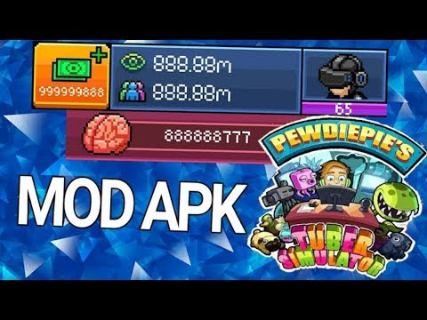 Pewdiepie Tuber Simulator Mod Apk (Unlimited Money) For Android