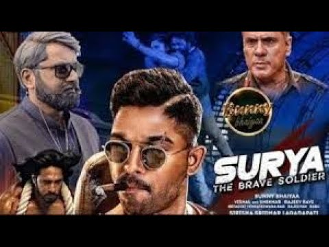 Surya - the brave soldier ll official trailer 1 and 2 hindi dubbed ll