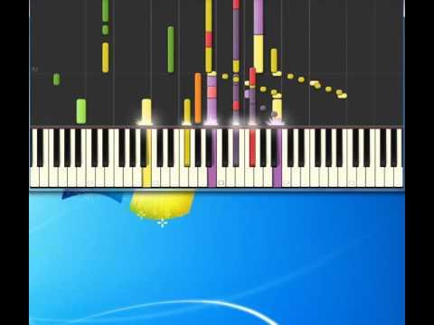 видео игры на фортепиано - I saved the world today