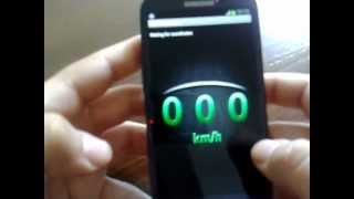 DSpeed GPS Speedometer in MPH YouTube video