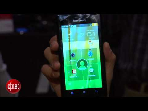 lenovo k800 - Brian takes a look at the Lenovo K800, the first Intel powered smartphone.