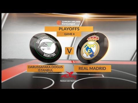 EuroLeague Highlights Playoffs 4: Darussafaka Dogus Istanbul 78-89 Real Madrid
