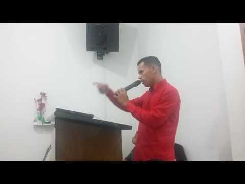 Ministração Evangelista Maycon na AD Mpf de Iperó no Culto Dominical  em 17/9/16