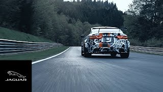 2017 Jaguar XE SV Project 8 Teaser