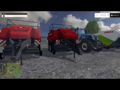 Pack Balestacker and baler attacher v1.1 fix colors wheels