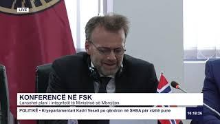 RTK3 Drejtpërdrejt - Konferencë në FSK 17.07.2019