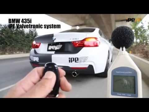 BMW 435i (F32) 用 iPE 可変バルブマフラー